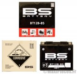 Déstockage ! BS-batterie 12v / 10ah BT12B-BS (yt12b-bs) pour moto