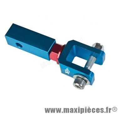 Déstockage ! Rehausse amortisseur alu Bleu pour scooter MBK booster et peugeot TKR (80mm)