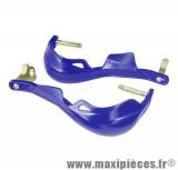 Déstockage ! Protège mains intégrale bleu pour moto 50 a boite et quad