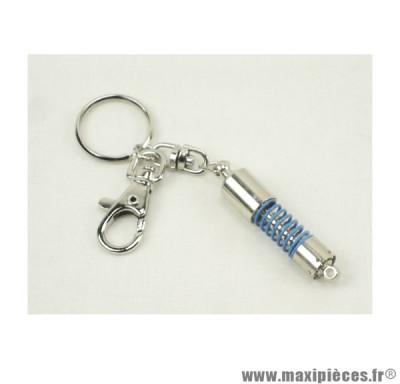 Porte clés amortisseur Bleu