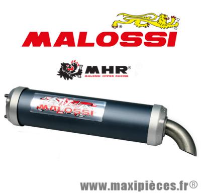 Déstockage ! Silencieux scooter Malossi aluminium MHR Replica Ø60
