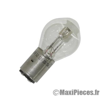 Ampoule 12v 35/35w blanc BA20d Flösser (x1)