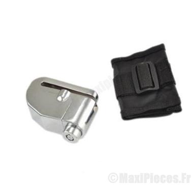 Déstockage ! Antivol bloque disque Power Plus avec alarme intégré (6mm)
