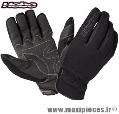 Déstockage !  Gants HEBO hiver (winter Free 3) noir Taille M (Produits pour le sport/loisir)