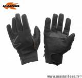 Déstockage ! Gants moto/quad de marque Kappa mi-saison noir taille L (Produits pour sport/loisir)