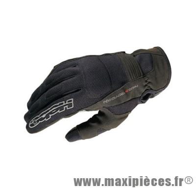 Déstockage ! Gants HEBO XALOC Gloves noir Taille L pour moto, scooter, quad, mob… (Produits pour le sport/loisir)