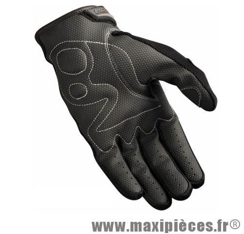 Gants HEBO Summer free noir taille S pour moto, scooter