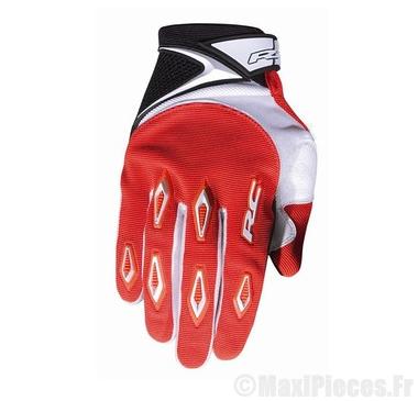 Déstockage ! Gants cross RC Ride Rouge Taille XXS (Produits pour sport/loisir/Norme CE/EPI 94-689 type1)