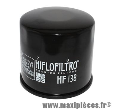 Déstockage ! Filtre à huile Hiflofiltro HF138 pour Suzuki 600 GSX-R, 600 Bandit...