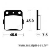 Déstockage ! Plaquette de frein Bendix pour Honda CRF150F 2003 à 2014