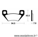Déstockage ! Plaquette de frein Bendix pour Arctic Cat 650 H1