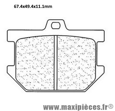 Déstockage ! Plaquette de frein avant Yamaha XV1000 Virago 1981-1985