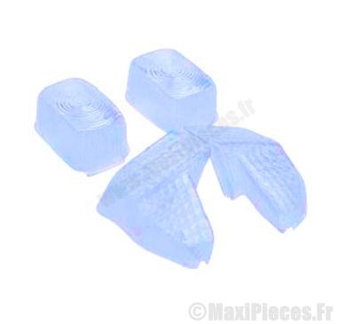 Déstockage ! kit cabochons clignotants bleu pour booster spirit 1999 à 2003
