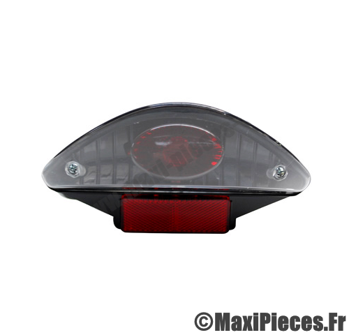 Feu arrière tuning lexus black pour scooter mbk nitro yamaha aerox 50cc neuf