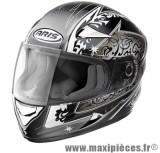 Destockage casque intégral de marque «Aris Speed» noir et gris (Homologué) Taille XL (61-62 cm)