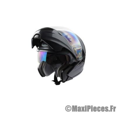 Destockage casque modulable de marque «Aris» gris titanium double écran (Homologué) Taille XS (53-54 cm)
