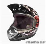 Destockage casque cross de marque «Aris mx2» noir et rouge (Homologué) Taille XL (61-62 cm)