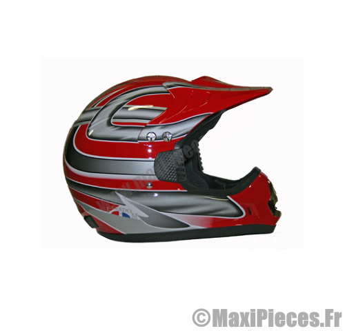 casque cross moto enduro atlas rouge maxi pi ces 50. Black Bedroom Furniture Sets. Home Design Ideas