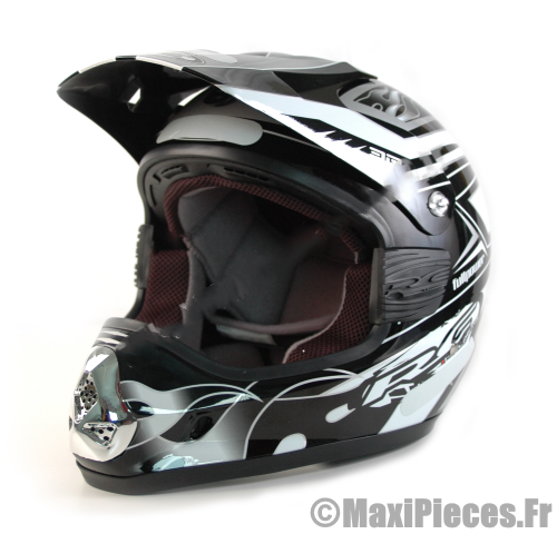 casque moto cross black xl maxi pi ces 50. Black Bedroom Furniture Sets. Home Design Ideas