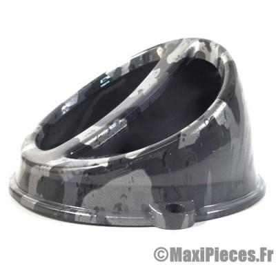 prix discount ! écope de refroidissement universel  camouflage gris diamètre 132mm pour tous scooter