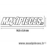 Autocollant Maxipièces grand format (14,5 x 3,4cm) à l'unité