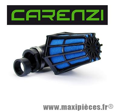 filtre à air hexagonal carenzi pour 50 à boite/scooter/quad/moto/mobylette...