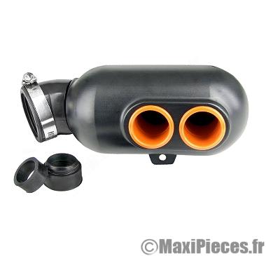filtre boite à air type karting Ø28/35/45mm noir