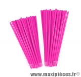 Couvre rayons 76 pièces couleur rose