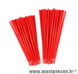 Couvre rayons 76 pièces couleur rouge
