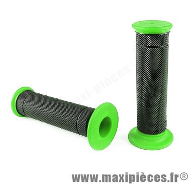 jeu de poignées smooth vert fluo (paire)