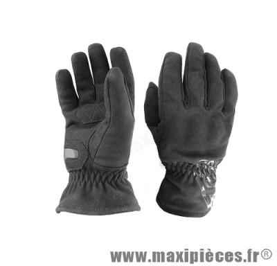 Gants GTR 4SEASONS waterproof (taille L) coques black pour scooter, moto, quad, cyclomoteur… (Produits pour le sport/loisir)