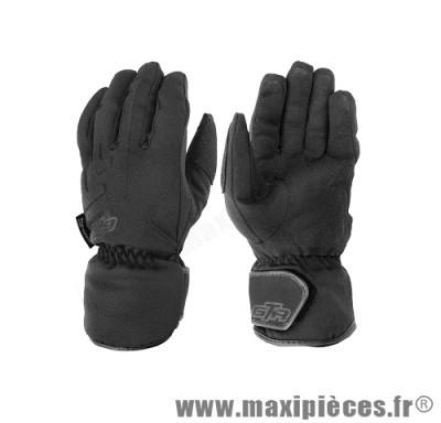 Gants hiver GTR ICE waterproof (taille M) black pour scooter, moto, quad, cyclomoteur… (Produits pour le sport/loisir)