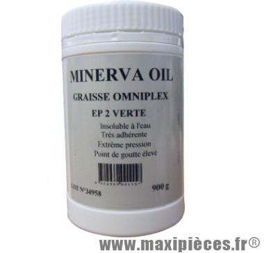 Destockage ! Graisse multi-usage Omniplex EP 2 verte Minerva (900gr)