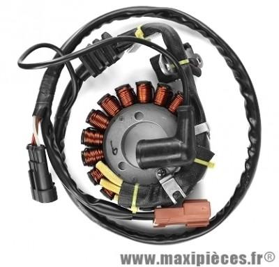 Stator allumage pour Piaggio MP3 125/250/300cc (OEM 58070R/58112R/638848), X10…