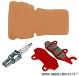 pack entretien pour 50 à boite mbk x-power, yamaha tzr 50cm³ 2004