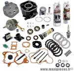 pack réfection moteur type origine(haut moteur, vilo, roulement, joint...)pour: euro2 derbi senda drd x-treme x-race sm enduro gpr gilera gsm bultaco astro lobito ... (EBE050)
