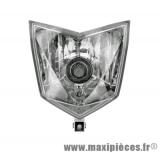 Optique phare pour moto cpi sx, sm 50cc à partir de 2007