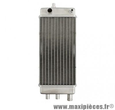 radiateur d'eau (alu) adaptable pour 50 à boîte derbi senda,gilera smt, rcr…