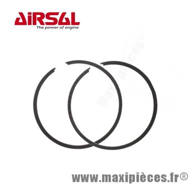 Segment pour piston airsal alu D40 Air pour peugeot 103 SP MVL SPX RCX... (Vendu par 2)