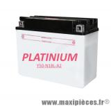 Destockage ! Batterie 12v / 20 ah Platinium y50-n18l-a2 pour moto, quad,...
