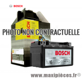 Destockage ! Batterie 12v / 11ah yb10l-a2 Bosch pour maxiscooter, moto, quad,...