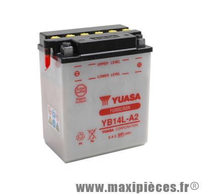 Prix spécial ! Batterie YB14L-A2 12v / 14ah Yuasa pour moto