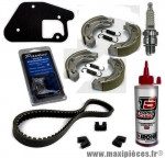 Pack révision entretient pour mbk booster yamaha bws frein a tambour av/ar