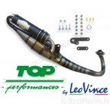 Pot d'échappement top perf HP2 pour scooter Piaggio, Gilera typhoon, dna, sr50…