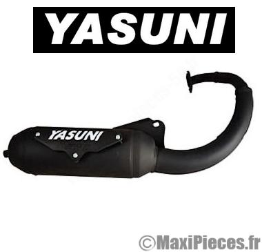 Pot d'échappement yasuni eco pour Peugeot speedfight, x-fight, tkr…