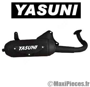 Pot d'échappement yasuni eco pour suzuki katana, aprilia sr 50…