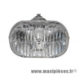 phare optique avant adaptable origine pour mbk ovetto yamaha neos à partir de 2008