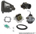 Pack carburation type origne pour mbk nitro, ovetto (2004> starter auto)