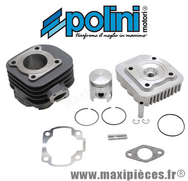 kit haut moteur 50 cc polini fonte air : aprilia sr50 rally malaguti f10 f12 mbk ovetto mach-g pgo neos jog ...