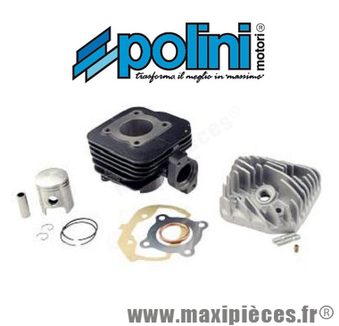 kit haut moteur 50 cc polini fonte air : peugeot ludix 50 vivacity...